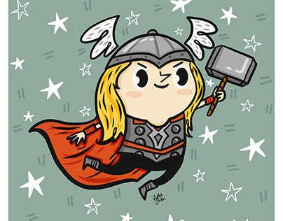 Thor from the Avengers comic