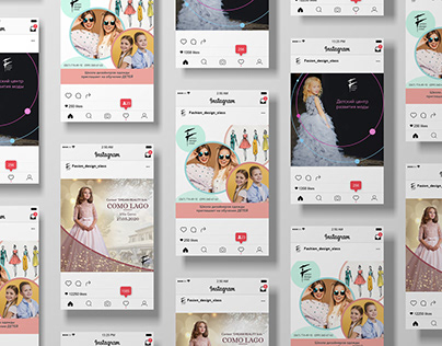 Commercial offer for fashion, ads in Instagram and FB