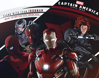 Captain America Civil War - Team Ironman