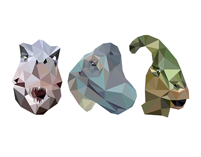 Low Poly Dinosaurs