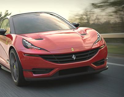 Ferrari Hatch back Concept car and Next