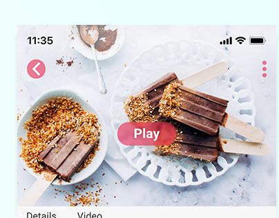CULINARY APP SCREEN