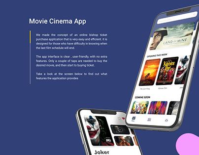 Movie Cinema App
