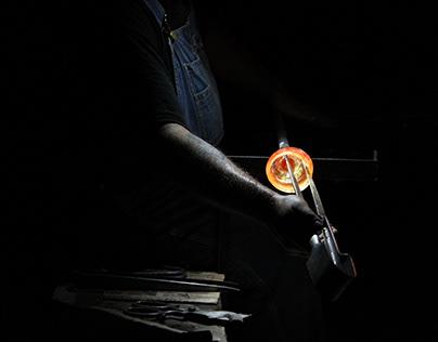 Vidrio y fuego