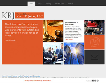 Legal Practice Website