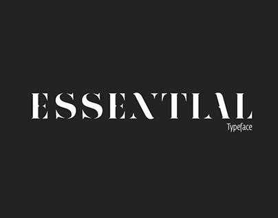 Essential - Typeface
