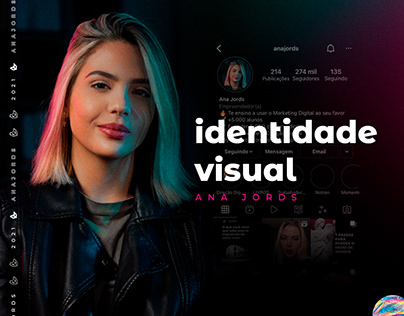 Identidade Visual - Ana Jords