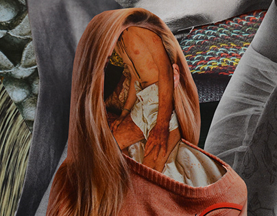 Analog Collages Illustrations