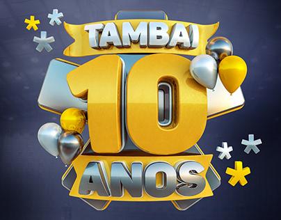 Tambaí Chevrolet - Selo 10 Anos