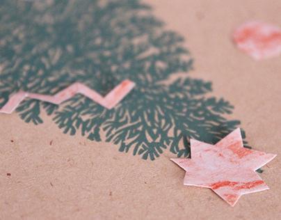 Ramato Christmas cards - Pinetto