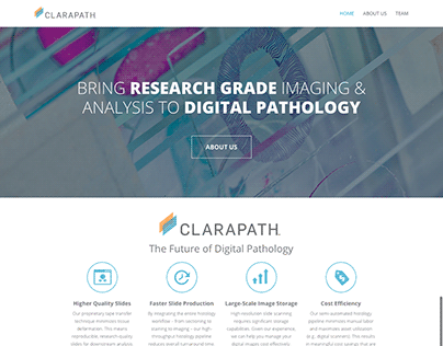 Digital Pathology Startup Site