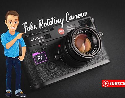 Adobe Premiere Pro CC: Fake Rotating Camera Effect شرح