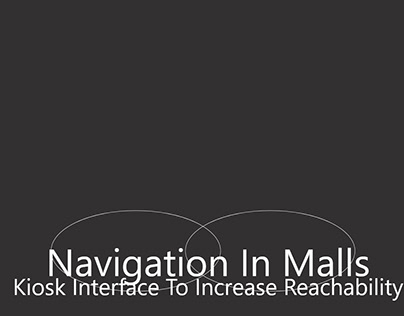 A navigation system to increase reach in a mall