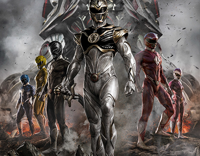 Power Rangers (Personal re-design)