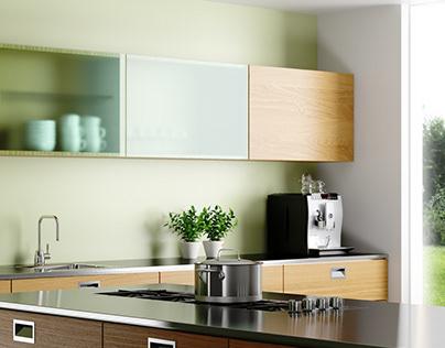 Kitchen 3d visualizations