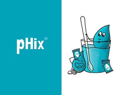 pHix - Art Direction   Packaging   Illustration