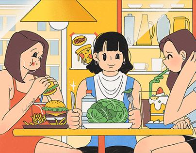 'I hate dieting ' Series