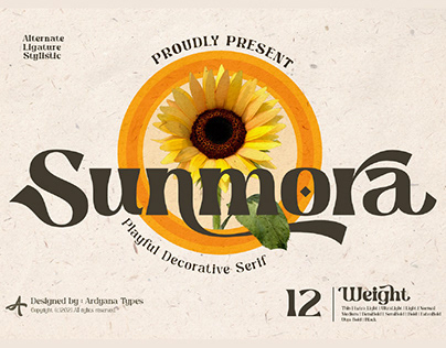 FREE | Sunmora Decorative Serif