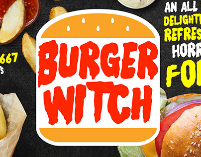 Burger Witch - Free Range Typeface