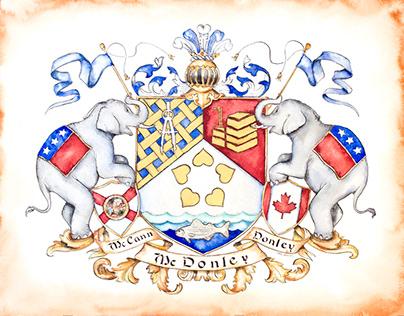 McDonley Coat of Arms