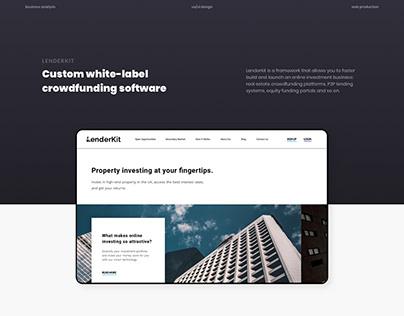 LenderKit – P2P Crowdfunding Platform
