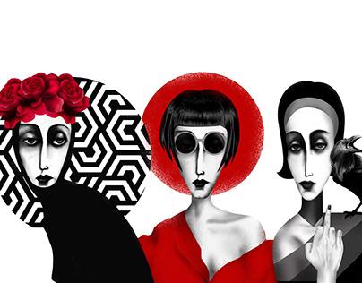 My last project of 15 digital illustrations