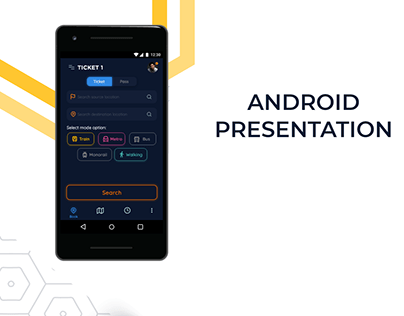 Ticket Booking App | Android Presentation