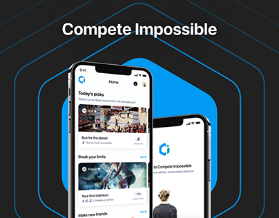 All in one social platform for athletes