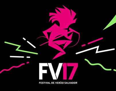 Festival de Verão 2017 - Direção de Arte Digital