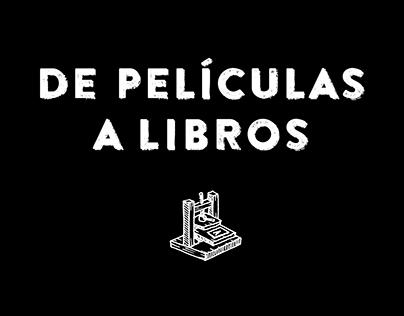 De Películas a Libros