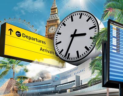 Guide horaire aéroport Toulouse Blagnac