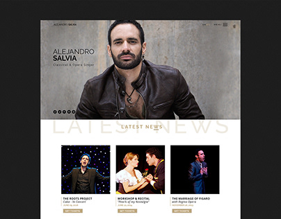 Alejandro Salvia - Website