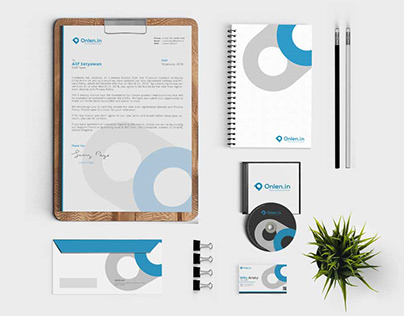 Onlen.in - Graphic Design and Branding