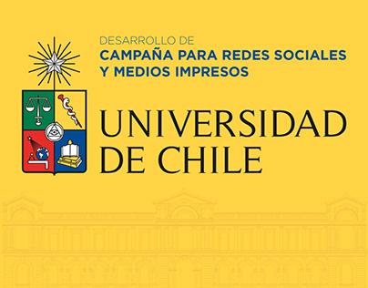 Campaña Digital Universidad de Chile