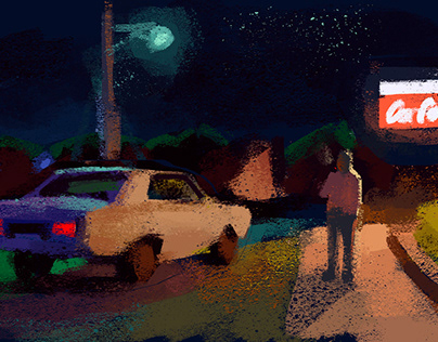 night sketches