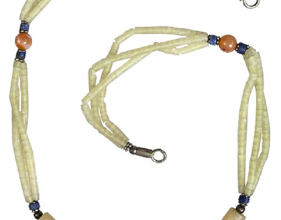 Ancient collection: Near Eastern beaded necklace
