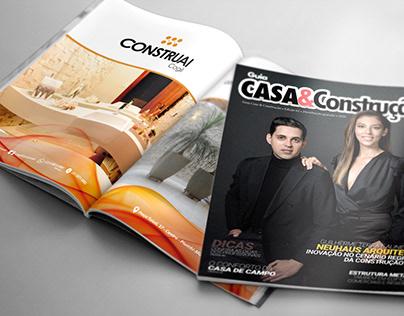Diagramação Revista Casa & Construção