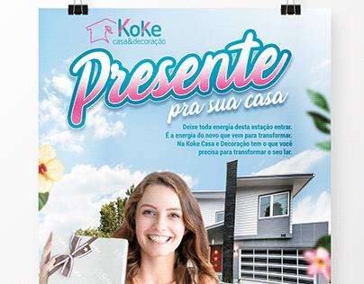 Koke Casa & Decoração | Campanha Presente pra sua casa