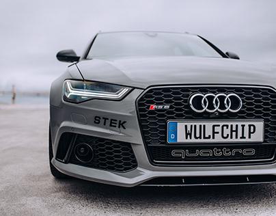 Wulfchiptegnik™ Audi RS6 Project Noisy™ Branding