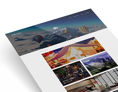 Web Application - EYES/ONLY (Luxury/E-Commerce)