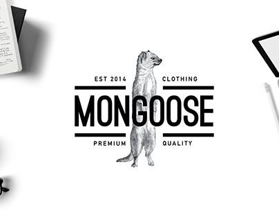 Mongoose™ | Clothing Brand Identity and Artworks
