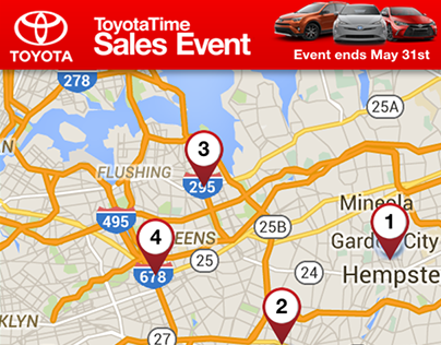 Toyota May Sales Event - Dealer Locator