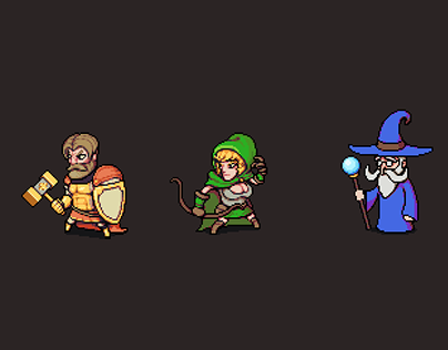 RPG Characters Animation Pack
