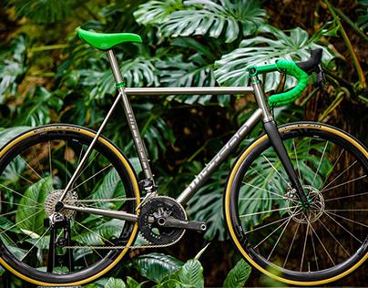 Wittson custom titanium road disc bicycle 246