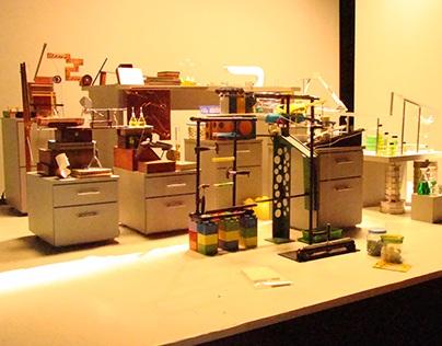Máquina de Rube Goldberg para o CENPES