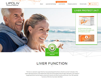 Website development for medicine product