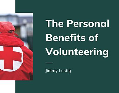 The Personal Benefits of Volunteering