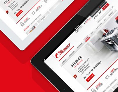 TCSConnect - Web Design