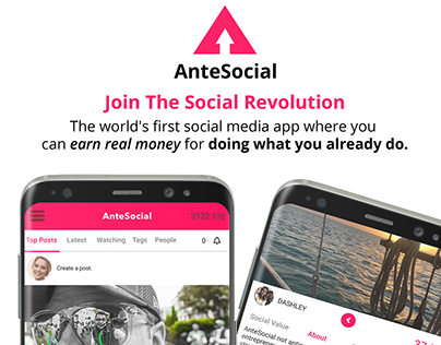 AnteSocial | Join The Social Revolution