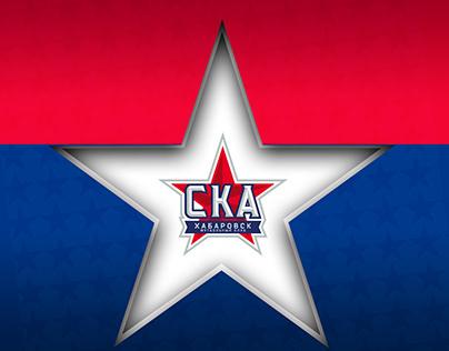 """Instagram posts design for FC """"SKA Khabarovsk"""""""